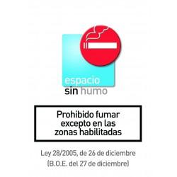 Rótulo Prohibido Fumar...