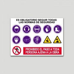 Rótulo de Normas de Uso...