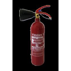 Extintor de 2kg CO2 34B