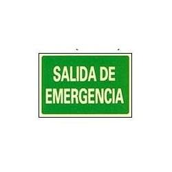 RÓTULO SALIDA DE EMERGENCIA