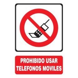 SEÑAL DE PROHIBIDO MÓVILES