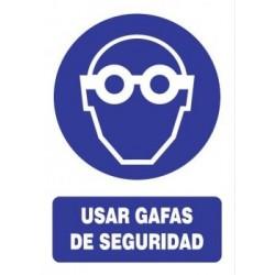 SEÑAL USO DE GAFAS DE...